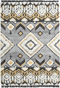 Deco Rug 250X350 Authentic  Modern Handwoven Light Grey/Black Large (Wool, India)