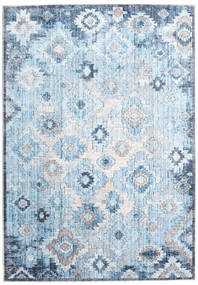 Zack Tapijt 160X230 Modern Lichtblauw/Beige ( Turkije)