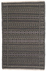 Kilim Persia Rug 80X130 Authentic  Oriental Handwoven Dark Grey/Black (Wool, Persia/Iran)
