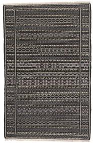 Kilim Persia Rug 80X130 Authentic  Oriental Handwoven Dark Grey/Black (Wool, Persia/Iran)