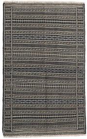 Chilim Persia Covor 100X160 Orientale Lucrate De Mână Negru/Gri Închis/Gri Deschis (Lână, Persia/Iran)