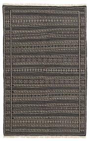Kilim Rug 102X160 Authentic Oriental Handwoven Black/Dark Grey (Wool, Persia/Iran)