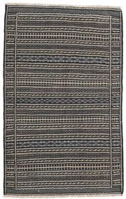 Kilim Perzsa Szőnyeg 100X160 Keleti Kézi Szövésű Sötétszürke/Fekete/Világosszürke (Gyapjú, Perzsia/Irán)