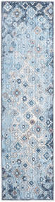 Zack Rug 80X300 Modern Hallway Runner  Light Blue/Light Purple ( Turkey)