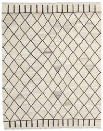 Kelim Ariana Teppich  195X244 Echter Moderner Handgewebter Beige/Dunkel Beige/Hellgrau (Wolle, Afghanistan)