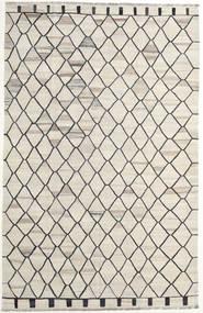 Kelim Ariana Teppe 195X307 Ekte Moderne Håndvevd Lys Grå/Mørk Beige (Ull, Afghanistan)