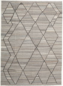 Kilim Ariana Rug 253X348 Authentic  Modern Handwoven Light Grey Large (Wool, Afghanistan)