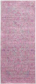 Maharani - Harmaa/Roosa Matto 80X200 Moderni Käytävämatto Vaaleanpunainen/Pinkki ( Turkki)