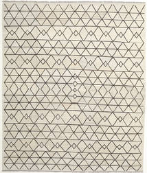 Kelim Ariana Vloerkleed 259X308 Echt Modern Handgeweven Donkerbeige/Beige Groot (Wol, Afghanistan)