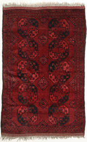Afghan Khal Mohammadi Rug 149X225 Authentic  Oriental Handknotted Dark Red (Wool, Afghanistan)