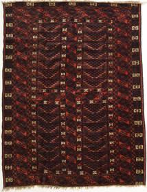 Afghan Khal Mohammadi Matto 149X200 Itämainen Käsinsolmittu Tummanruskea/Tummanpunainen (Villa, Afganistan)