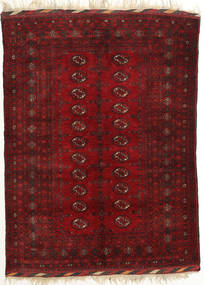 Afghan Khal Mohammadi Rug 131X182 Authentic  Oriental Handknotted Dark Red/Crimson Red (Wool, Afghanistan)