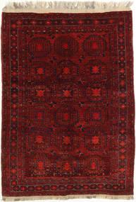 Afghan Khal Mohammadi Matto 131X180 Itämainen Käsinsolmittu Tummanpunainen/Tummanruskea (Villa, Afganistan)