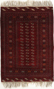 Afghan Khal Mohammadi Tappeto 134X190 Orientale Fatto A Mano Marrone Scuro/Rosso Scuro (Lana, Afghanistan)