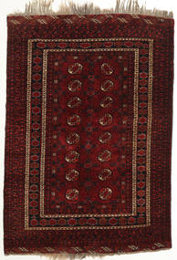 Afghan Khal Mohammadi Rug 128X186 Authentic  Oriental Handknotted Dark Brown/Dark Red (Wool, Afghanistan)