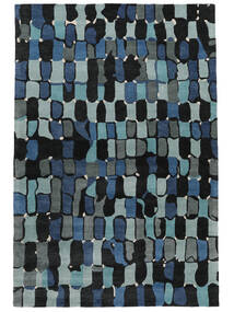 In The Woods - 2018 Alfombra 250X350 Moderna Azul Oscuro Grande ( India)