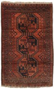 Afgan Khal Mohammadi Dywan 114X184 Orientalny Tkany Ręcznie Ciemnoczerwony/Ciemnobrązowy (Wełna, Afganistan)