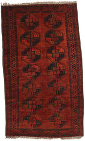 Afghan Khal Mohammadi Rug 115X194 Authentic  Oriental Handknotted Dark Red/Rust Red (Wool, Afghanistan)