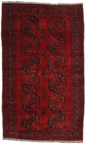 Afghan Khal Mohammadi Rug 121X202 Authentic  Oriental Handknotted Dark Red/Crimson Red (Wool, Afghanistan)