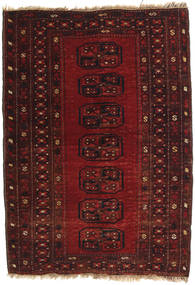 Afghan Khal Mohammadi Rug 90X125 Authentic  Oriental Handknotted Dark Red/Dark Brown (Wool, Afghanistan)