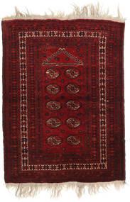 Afghan Khal Mohammadi Alfombra 91X126 Oriental Hecha A Mano Rojo Oscuro (Lana, Afganistán)