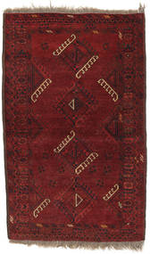 Afghan Khal Mohammadi Rug 90X149 Authentic  Oriental Handknotted Dark Red (Wool, Afghanistan)