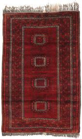 Afghan Khal Mohammadi Alfombra 90X137 Oriental Hecha A Mano Rojo Oscuro/Marrón Claro (Lana, Afganistán)