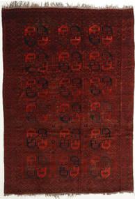 Afghan Khal Mohammadi Matto 255X357 Itämainen Käsinsolmittu Tummanpunainen/Tummanruskea Isot (Villa, Afganistan)