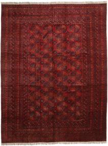 Afghan Khal Mohammadi Tæppe 410X535 Ægte Orientalsk Håndknyttet Mørkerød/Mørkebrun Stort (Uld, Afghanistan)