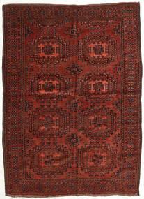 Afghan Khal Mohammadi Rug 147X200 Authentic  Oriental Handknotted Dark Red/Dark Brown (Wool, Afghanistan)