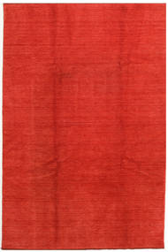 Handloom Fringes Rug 200X300 Modern Rust Red/Orange (Wool, India)
