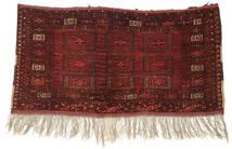 Afgán Khal Mohammadi Szőnyeg 75X143 Keleti Csomózású Sötétpiros/Barna (Gyapjú, Afganisztán)