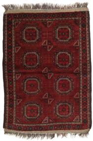 Afghan Khal Mohammadi Matto 106X146 Itämainen Käsinsolmittu Tummanpunainen (Villa, Afganistan)