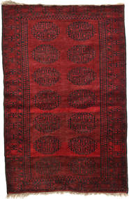 Afghan Khal Mohammadi Rug 106X161 Authentic  Oriental Handknotted Dark Red/Dark Brown (Wool, Afghanistan)