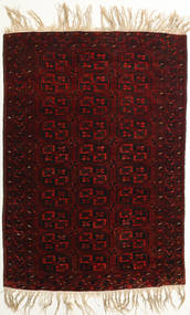Afghan Khal Mohammadi Alfombra 98X144 Oriental Hecha A Mano Marrón Oscuro/Rojo Oscuro (Lana, Afganistán)