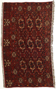 Afghan Khal Mohammadi Rug 94X148 Authentic Oriental Handknotted Dark Red/Dark Brown (Wool, Afghanistan)