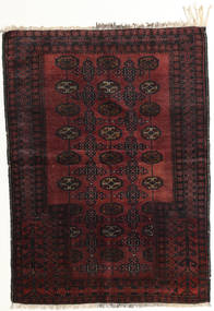 Afghan Khal Mohammadi Rug 95X129 Authentic Oriental Handknotted Dark Brown/Dark Red (Wool, Afghanistan)