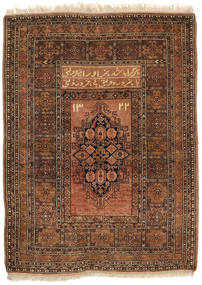 Afghan Khal Mohammadi Alfombra 86X115 Oriental Hecha A Mano Marrón Oscuro/Marrón/Marrón Claro (Lana, Afganistán)