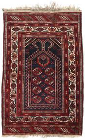 Afghan Khal Mohammadi Alfombra 84X123 Oriental Hecha A Mano Rojo Oscuro/Marrón (Lana, Afganistán)