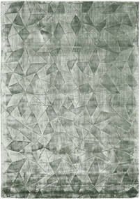 Crystal - Frosty Green Rug 140X200 Modern Dark Grey/Light Grey ( India)