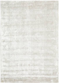 Crystal - Silver White Rug 140X200 Modern Dark Beige/White/Creme ( India)