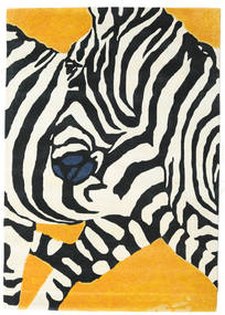 Zebra - 2018 Rug 160X230 Modern Beige/Black (Wool, India)