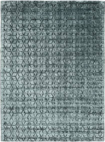Diamond - Dark_Teal Rug 210X290 Modern Dark Grey/Blue ( India)