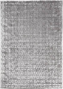 Diamond - Soft Grey Rug 240X340 Modern Light Grey/Dark Brown ( India)