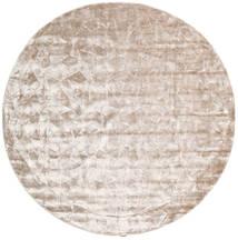 Crystal - Soft_Beige Tappeto Ø 250 Moderno Rotondo Grigio Chiaro/Bianco/Creme Grandi ( India)