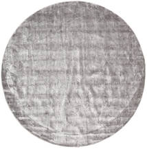 Crystal - Soft Grey Rug Ø 250 Modern Round Dark Grey/Light Grey Large ( India)