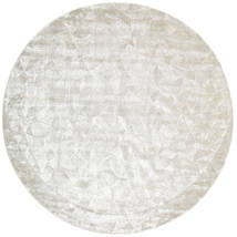 Crystal - Silver White Rug 250X250 Modern Square Beige/Dark Beige Large ( India)