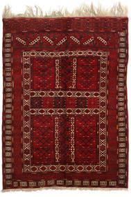 Afghan Khal Mohammadi Teppich  153X207 Echter Orientalischer Handgeknüpfter Dunkelrot/Dunkelbraun (Wolle, Afghanistan)