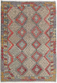 Kilim Afghan Old Style Rug 169X240 Authentic  Oriental Handwoven Light Brown/Dark Grey (Wool, Afghanistan)