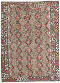 Kelim Afghan Old Style Matto 177X240 Itämainen Käsinkudottu Vaaleanruskea/Tummanharmaa (Villa, Afganistan)